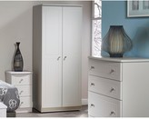 Dakota Swift Ready Assembled4 Piece Package - 2 Door Wardrobe, 5 Drawer Chest and 2 Bedside Chests