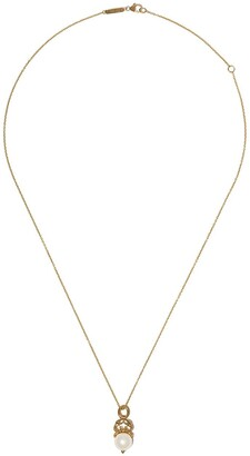 Stephen Webster 18kt yellow gold Cancer Astro Ball pearl pendant necklace