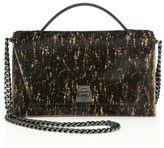 Akris Leather Top Handle Bag