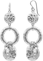 Jules B Grey Ring Earrings with Drops