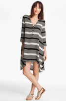 Thakoon Dot & Stripe Print Tunic