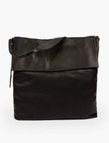 Rick Owens Black Leather Satchel