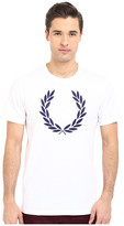 Fred Perry Textured Laurel Wreath T-Shirt