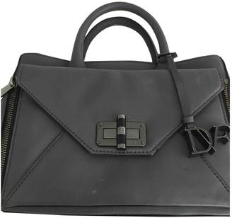 Diane von Furstenberg Grey Leather Handbags