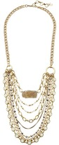 Lucky Brand Druzy and Chain Layer Necklace Necklace