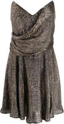Maria Lucia Hohan strapless shift dress
