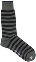 Pretty Green Striped Green Socks