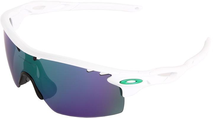 Oakley Radarlock XL (White w/ Jade Iridium) - Eyewear