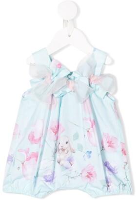 Lapin House Bow Detail Sleeveless Dress