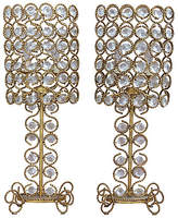 One Kings Lane Vintage,  Clear/gold/gilt, In Stock