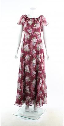 LoveShackFancy Multicolour Silk Dresses