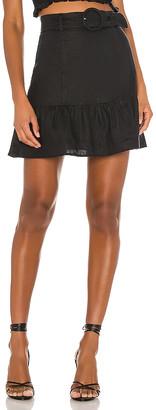Capulet X REVOLVE Bobbi Belted Mini Skirt