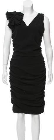 Sophie Theallet Ruched Midi Dress w/ Tags