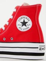 Converse Chuck Taylor All Star Lift Hi Top - Red