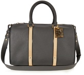 Sophie Hulme Charlton leather bowling bag