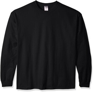 Gildan Men's Ultra Cotton Jersey Long Sleeve Tee Extended Sizes