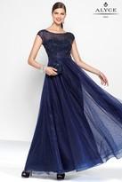 Alyce Paris Black Label - 5804 Long Dress In Midnight