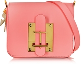 Sophie Hulme Darwin Bright Pink Saddle Leather Small Crossbody Bag