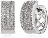 Celesta Diamonds by Ellen K. Women's Creole 585 /-White Gold with 52 Diamonds 0,25Karat 317310011–1