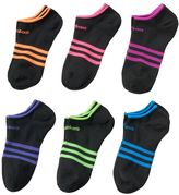 adidas Girls 6-pk. SuperLite No-Show Socks