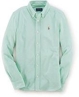 Ralph Lauren Knit Oxford Shirt