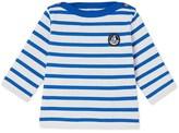 Petit Bateau Babies sailor top in heavy jersey