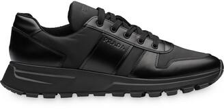 Prada brushed effect sneakers