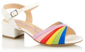 George Rainbow Mid Heel Shoes