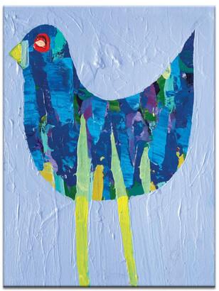 Artist Lane Mauve Bird Canvas Print