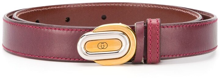 Gucci Pre-Owned GG buckle belt