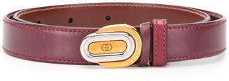Gucci Pre Owned GG buckle belt