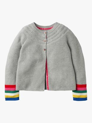Boden Girls' Everyday Stripe Cardigan