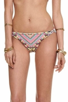 Mara Hoffman Divine Basket Weave Bikini Bottom in Stone