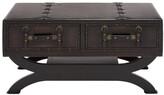 UMA Enterprises Wood Leather Coffee Table