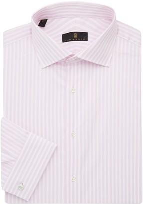 Ike Behar Ike By Regular-Fit Striped Dress Shirt