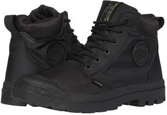 Palladium Pampa Cuff Recycle Wp+ (Black/Black) Men's Shoes