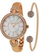 SO & CO So & Co Womens Rose Goldtone Bracelet Watch-Jp16298