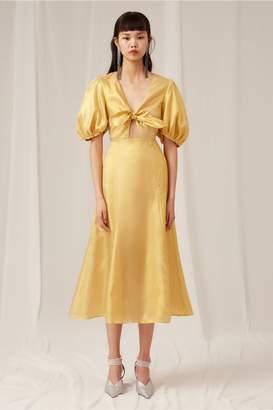 Keepsake CAUTION DRESS gold