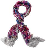 Athleta Floral Print Scarf by Blue Pacific Fashion