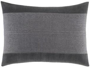 Vera Wang Shadow Stripe Lumbar Pillow