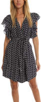 Apiece Apart Santiago Ruffle Arm Dress