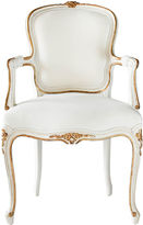 Ave Home Regent Side Chair, Antiqued White