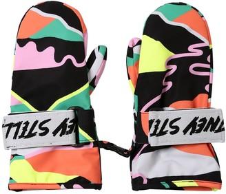 Stella McCartney Printed Nylon Ski Gloves
