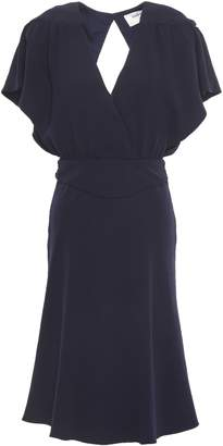 BA&SH Open-back Fluted Crepe Dress