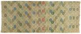 One Kings Lane Vintage Deco Runner - 4' x 9'10'' - J & D Oriental Rugs - beige/blue/brown