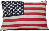 One Kings Lane Vintage Small Parade Flag Pillow