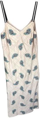 Manoush Beige Polyester Dresses