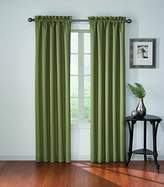 Eclipse Curtains Eclipse 11048042X063OLV Corinne Blackout 42-Inch by 63-Inch Window Single Curtain Panel, Olive