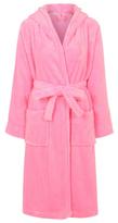 George Hooded Fleece Dressing Gown
