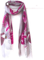 Oakley Finch Tropical Pink Scarf With Gift Box And Card